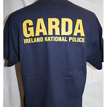 Irish T-Shirt - Garda Irish Police T-Shirt