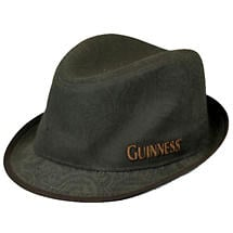 Guinness Vintage Label Fedora Hat
