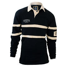 Guinness Classic Heritage Black & Cream Rugby Shirt