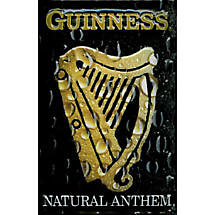 Guinness Metal Natural Anthem Sign