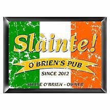 Personalized Pride of the Irish Pub Sign