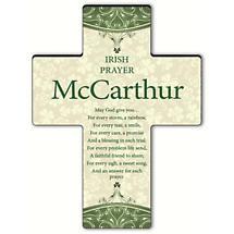 Personalized Classic Irish Cross - Irish Prayer
