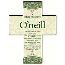 Personalized Classic Irish Cross - Old Irish Blessing 2