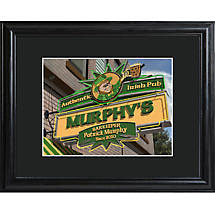 Personalized Authentic Irish Pub Print