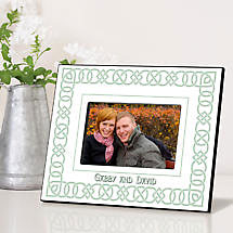 Personalized Irish Picture Frames - Irish Linen