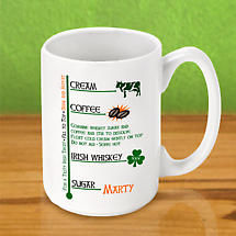 Personalized Irish Coffee Mug - Irish Coffee