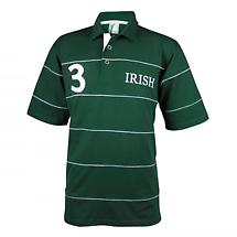 Croker Irish Green Piping Polo Shirt