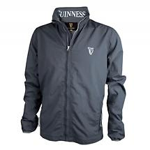Guinness Grey Wind Breaker Jacket