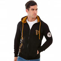 Guinness Limited Edition 200th Anniversary Black Zip Hooded Sweatshirt