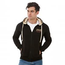 "Guinness Limited Edition 200th Anniversary ""Time For A Guinness""  Black Zip Hooded Sweatshirt"