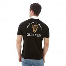 Guinness Limited Edition 200th Anniversary Black Cotton Polo Shirt