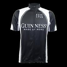 Guinness Full Zip Performance Cycling Jersey Shirt