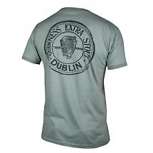Guinness Green Heathered Bottle Cap T-Shirt