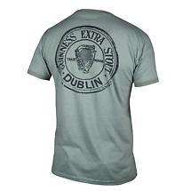 Guinness Green Heathered Bottle Cap T-Shirt