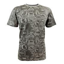 Guinness Vintage Label Gray Premium T-Shirt
