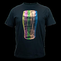 Guinness Vibrant Pint Black T-Shirt
