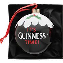 Irish Christmas - Guinness Pint Bauble Ornament