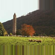 Glendalough, Co Wicklow Photographic Print
