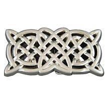 Rectangle Celtic Knot Belt Buckle