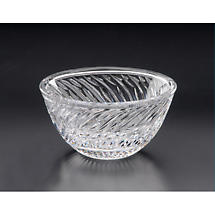 Irish Crystal - Heritage Crystal 5 inch Silver Salmon Bowl