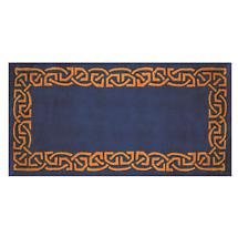 "Celtic Rug - ""Eternity"" Wool Rug - Blue"