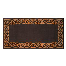"Celtic Rug - ""Eternity"" Wool Rug - Plum"