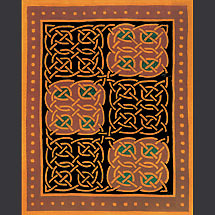 "Celtic Rug - ""Odyssey"" Wool Rug"