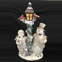 Irish Christmas - Timberland Snowmen Figurine