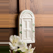 Belleek Welcome Door Wall Plaque