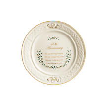 Bellleek 40th Anniversary Plate