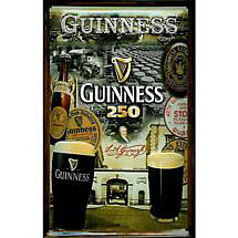 Guinness 250 Year Celebration Metal Sign