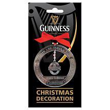 Irish Christmas - Guinness Christmas Label Ornament