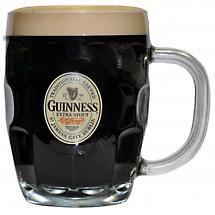 Guinness Hobnail Label Tankard