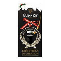 Irish Christmas - Guinness Christmas Pint & Barley Ornament