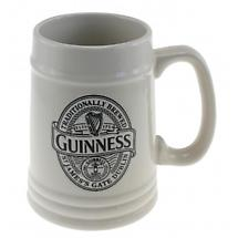 Guinness Ceramic Embossed Tankard