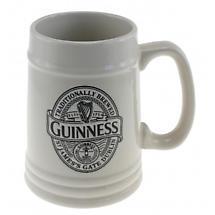 Guinness Ceramic Embossed Tankard