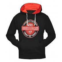 Smithwicks Label Pullover Hooded Irish Sweatshirt