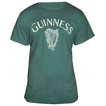 Guinness Heathered Harp T-Shirt