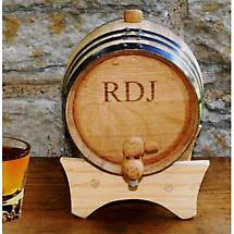 Personalized Mini Irish Whiskey Barrel