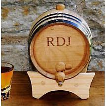 Personalized Mini Irish Whiskey Barrel
