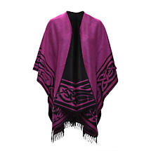 Irish Shawl - Vibrant Celtic Knotwork