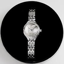 Irish Penny Watch - Ladies Irish Sixpenny Watch Silver Plate