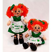 "Personalized 12"" Irish Doll - Molly Malone"