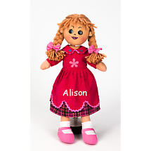 "Personalized 19"" Irish Doll - Poppy"