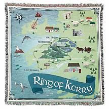 Ring of Kerry Irish Throw