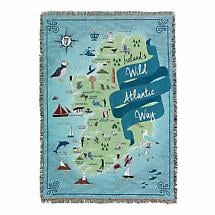 Wild Atlantic Way Irish Throw