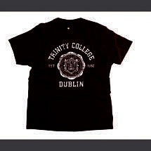 Irish T-Shirt - Trinity Wax Seal T-Shirt - Burgundy