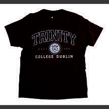 Irish T-Shirt - Trinity Collegiate Seal T-Shirt - Burgundy