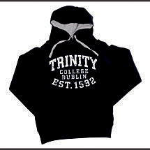 Irish Sweatshirt - Trinity 1592 Bold Hooded Sweatshirt - Navy
