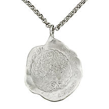 Celtic Necklace - Handcrafted 1916 Commermoration Sterling Silver Irish Necklace